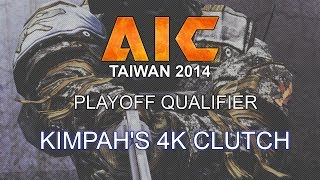 CGO AVA - Kimpah's 4k Clutch in the AiC Playoff Qualifier 2014