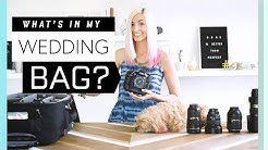 What's in my Camera Bag for Wedding Photography? || My photo equipment!