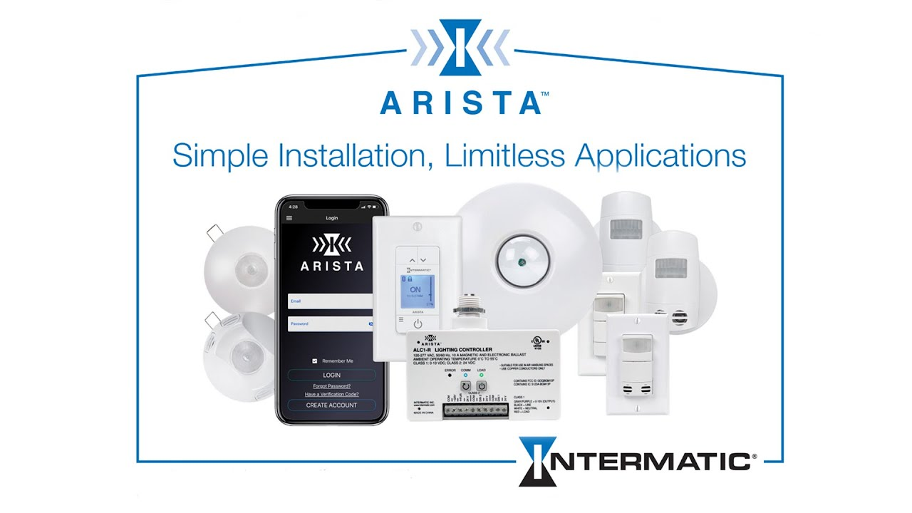 Intermatic Introduces all-new ARISTA Advanced Lighting Control System