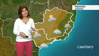 Previsão Sudeste – Chuva fraca em parte da Região