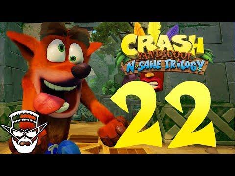 SMRAD S PLAMEŇOMETOM - CRASH BANDICOOT N SANE TRILOGY / 1080p 60fps / CZ/SK Lets Play / # 22