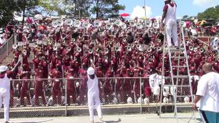 Alabama A&M University Band 2014 @ Tuskegee - Stunna