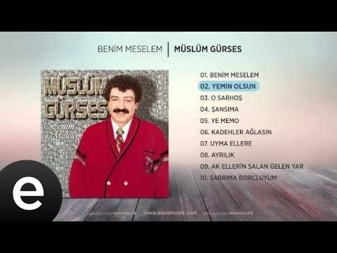 Yemin Olsun (Müslüm Gürses) Official Audio #yeminolsun #müslümgürses - Esen Müzik