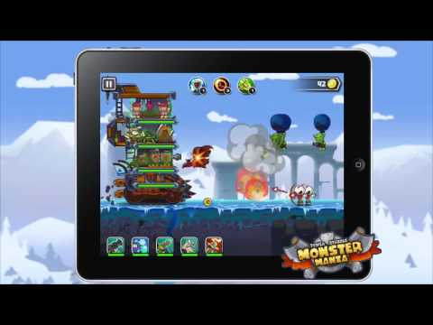 Monster Mania - Tower Strikes Official Game Trialer