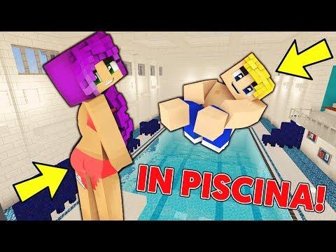 IN PISCINA! Minecraft ITA Roleplay - Hide and Seek