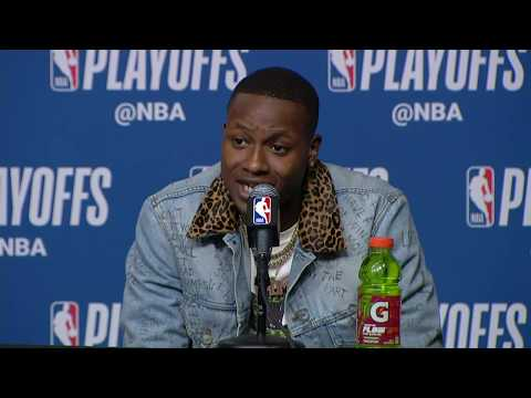 Terry Rozier Postgame Interview   Sixers vs Celtics Game 2