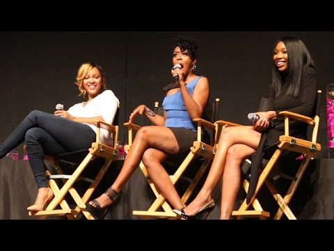 Brandy, Meagan Good And Tichina Arnold Team Up For 'Hollywood Confidential' Event