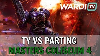 TY vs PartinG (TvP) - $10k Masters Coliseum 4 Playoffs