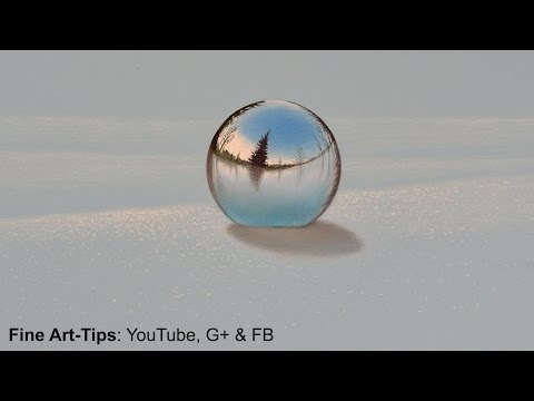 How to Draw a Chrome Sphere on the Snow - Leonardo Pereznieto on Forbes Magazine!