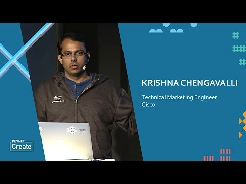 An Introduction to Cisco's IoT DataConnect – Krishna Chengavalli (DevNet Create 2017)