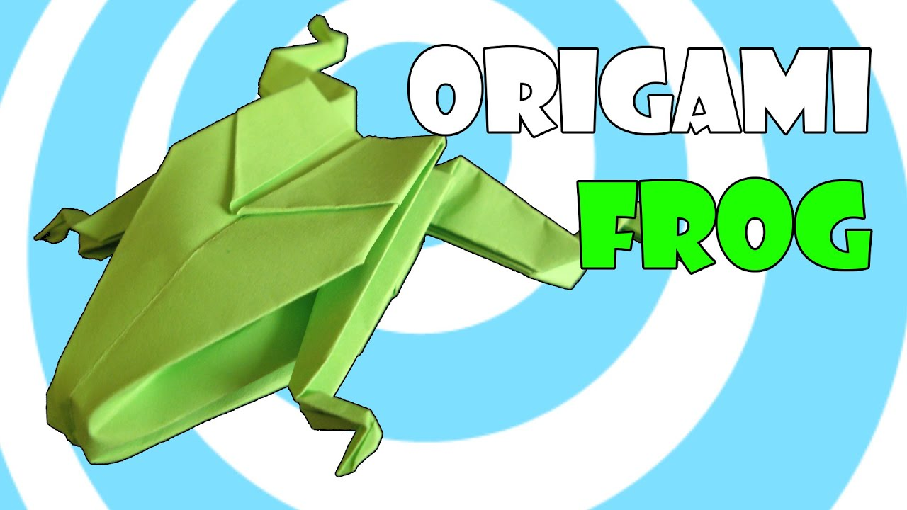 Origami Frog Instructions HD