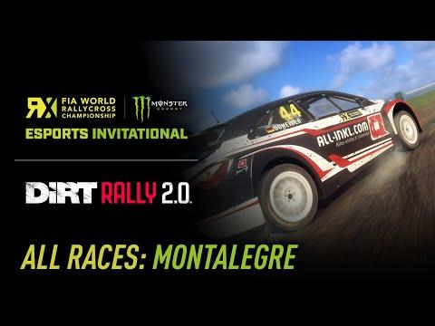 ALL RACES - World RX Esports Invitational (Montalegre Edition) - DiRT Rally 2.0