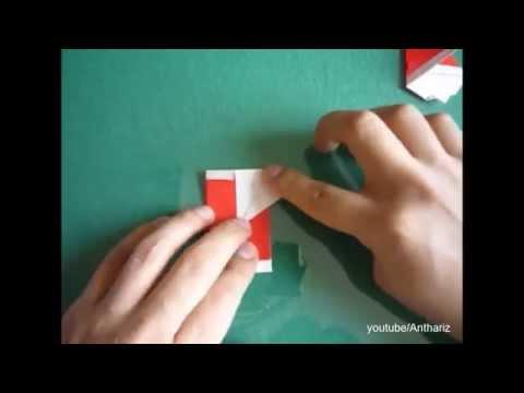 [Origami] Como hacer un Papa Noel - How to make a Santa Clause Videos De Viajes