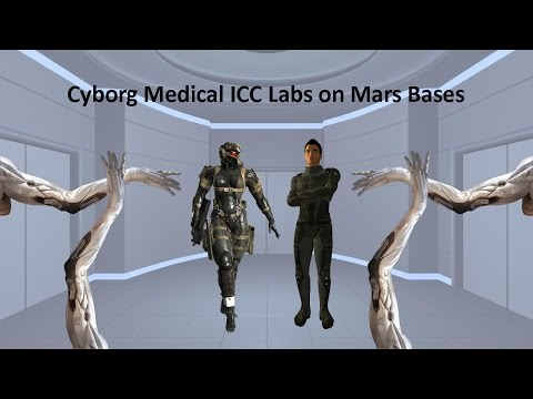 Cyborg Medical ICC Labs on Mars Bases