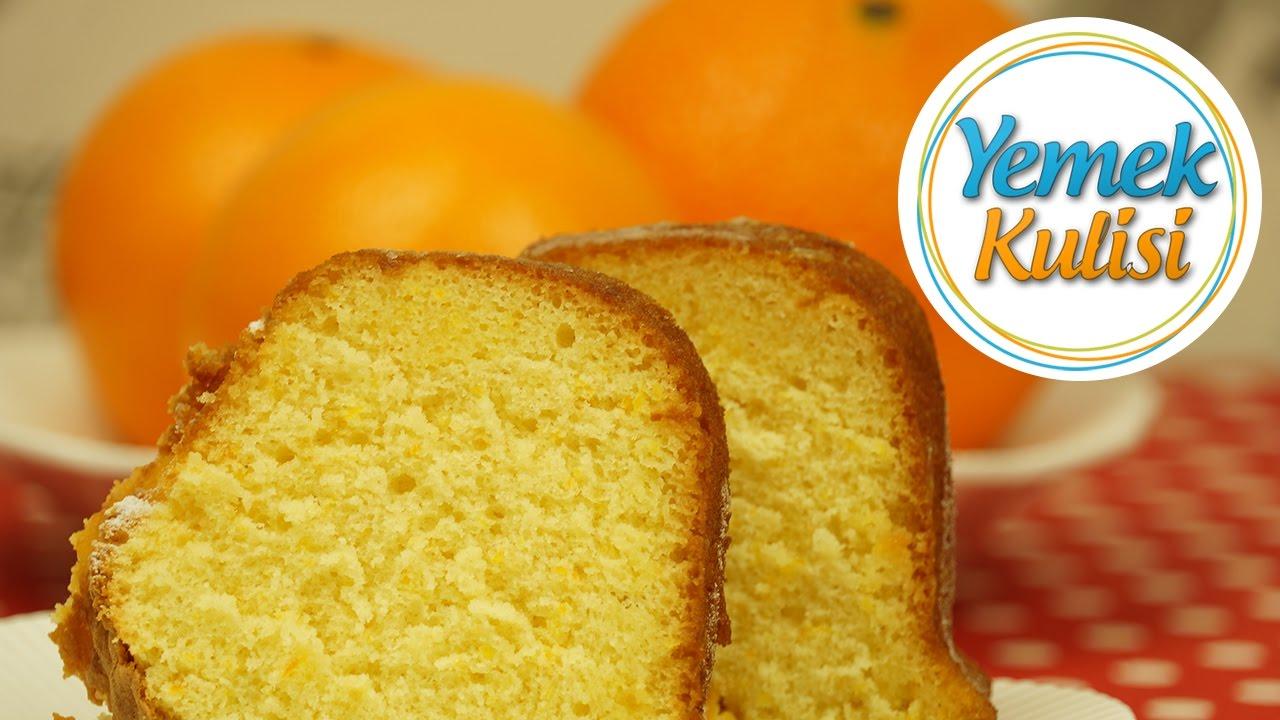 Kolay Portakallı Kek Tarifi Videosu