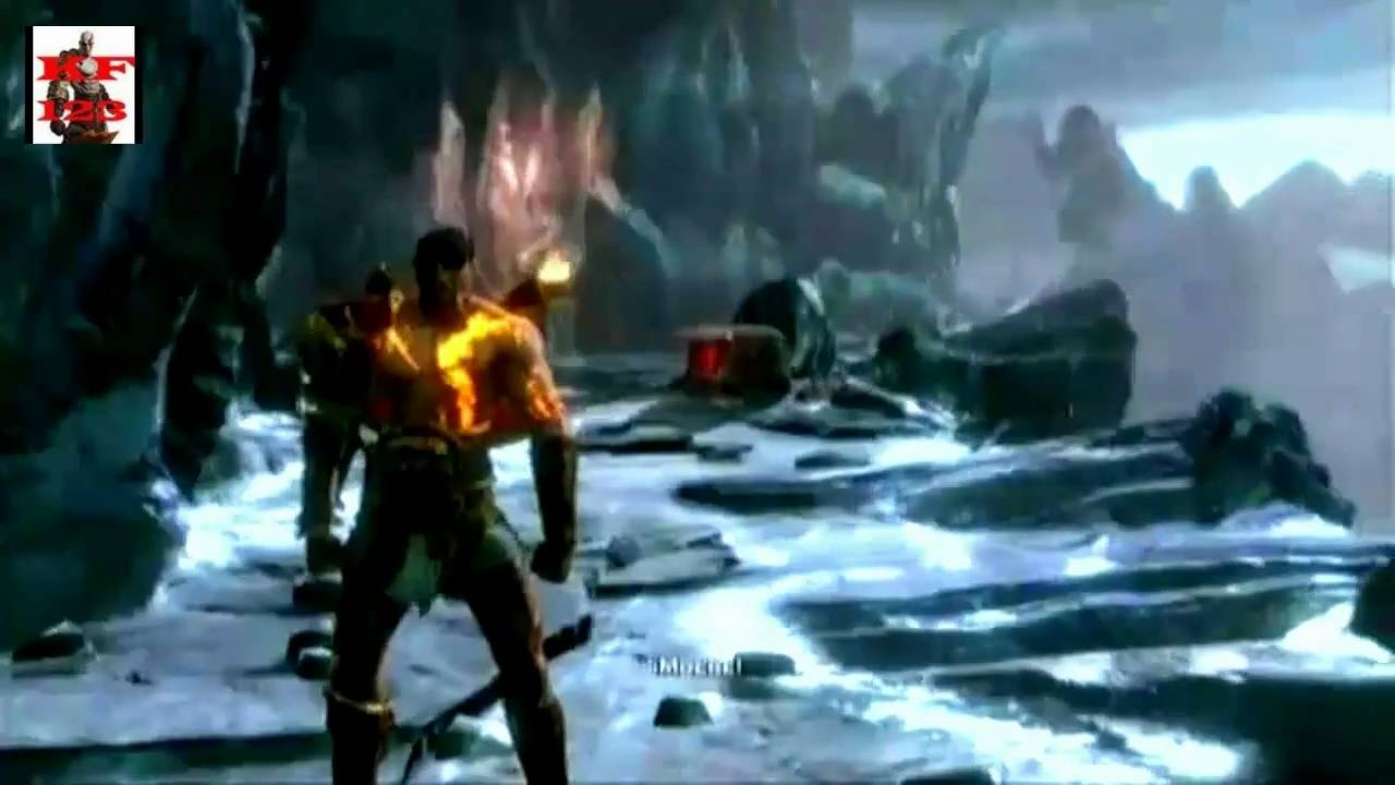 Kratos Brother Deimos gow 3 playing with DEI...