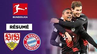 Résumé : Grâce à un grand Coman, le Bayern s'impose face à Stuttgart