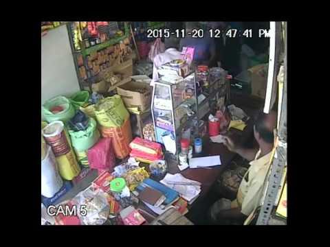 CCTV Footage In Sri Lankan Shop Amazing Women in video
