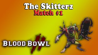 Blood Bowl 2 - The Skitterz Match #1 [Skaven vs High Elf]