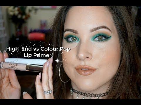High End vs Colour Pop Lip Primer! Are Lip Primers Worth It?! 👄