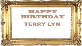 Terry Lyn   Birthday Postcards & Postales - Happy Birthday