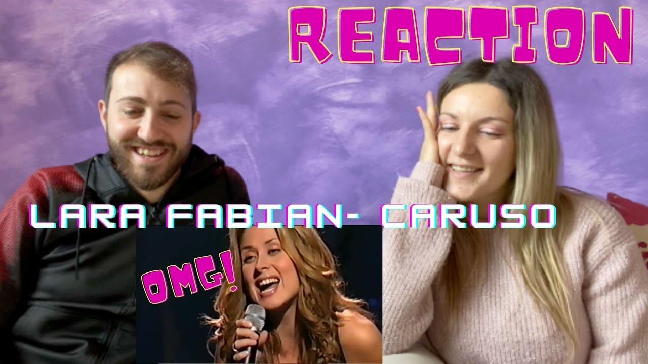 ITALIANS REACT TO LARA FABIAN - CARUSO (we are totally shocked) - YouTube