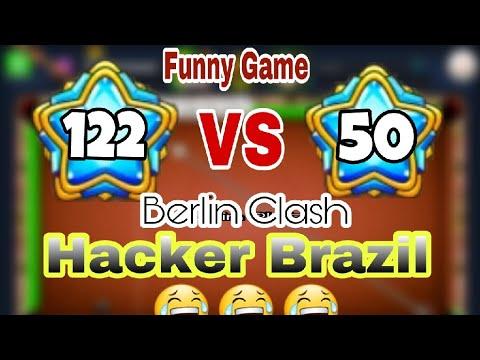 Hacker In Berlin - 8 ball Pool -Brazil/ Learn How to Make him Feeling Embarrassing Funny berlin ever