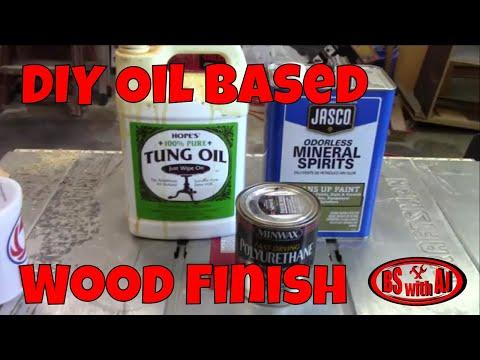 DIY Oil Based Wood Finish