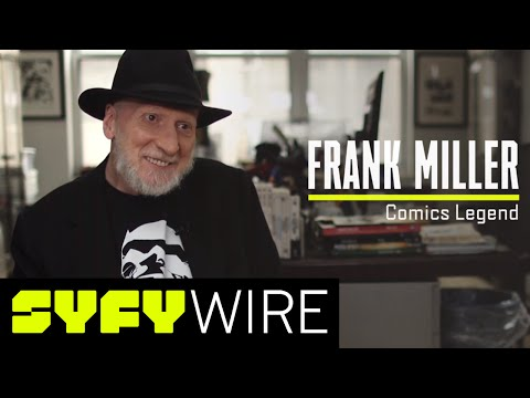Frank Miller on The Dark Knight III, The Dark Knight Legacy and More | SYFY WIRE