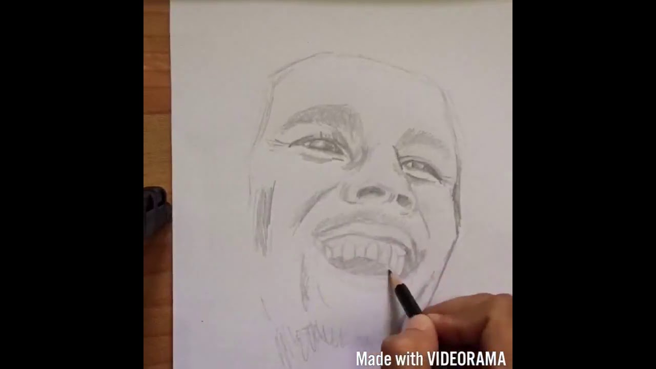Bob Marley Sketch Time Lapse Youtube