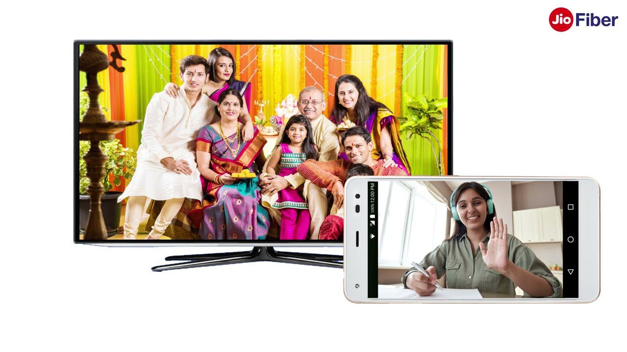 How to Use Mobile Camera for TV Video Calling using Jio Set Top Box