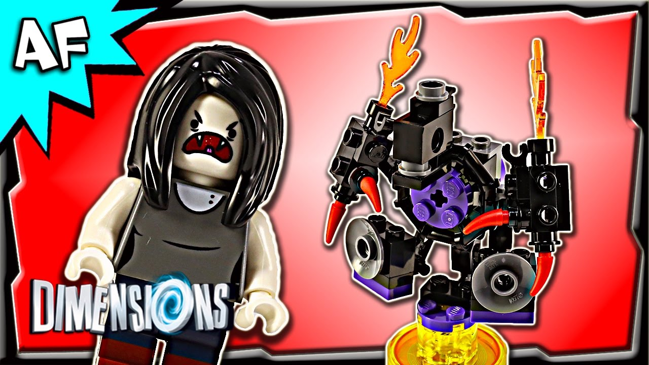 Lego Dimensions Adventure Time MARCELINE Fun Pack 71285 Stop Motion     Lego Dimensions Adventure Time MARCELINE Fun Pack 71285 Stop Motion Build  Review