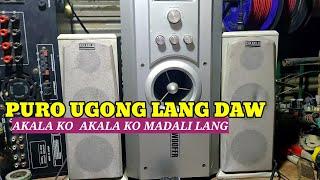 Subwoofer speaker ,Ugong lang ayaw gumana , DISTORTED? sira kaya Ang ic?