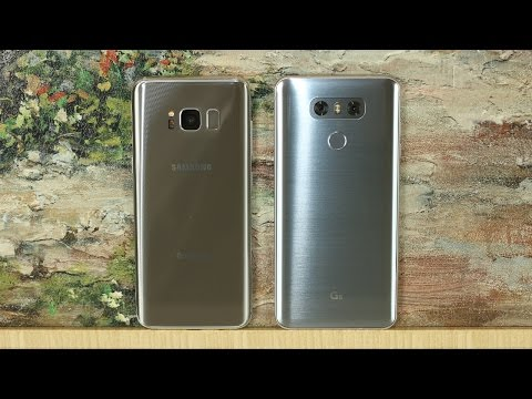 LG G6 vs Samsung Galaxy S8: Full Comparison