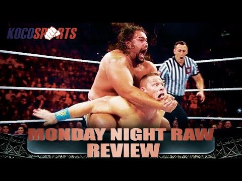 Kocosports wwe monday night raw review 7 13 15 - Monday night raw images ...