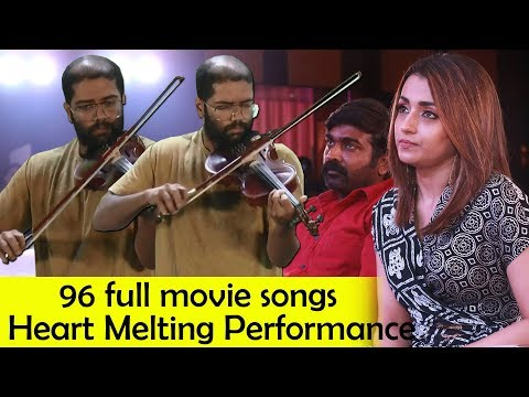 96 Full Movie Songs Live Performance by Govind Vasantha | Vijay Sethupathi | Trisha Mp3