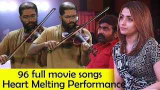 96 Full Movie Songs Live Performance by Govind Vasantha | Vijay Sethupathi | Trisha