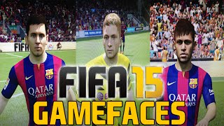 FIFA 15 | Gameplay Faces XBOX ONE, PS4 & PC FC Barcelona & BVB FIFA 15 [FULL HD]