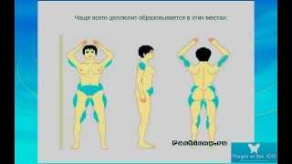 Упражнения для похудения. Фитнес дома.