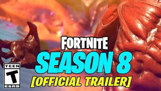 Fortnite Season 8 OFFICIAL TRAILER VIDEO & Teaser 3 (JB Chimpanski Battle Pass Skin)