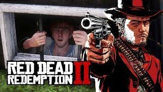 """Мэддисон играет в Red Dead Redemption - """"ОН ДЕРЖИТ ШКОЛЬНИКА НА ПРИВЯЗИ"""""""