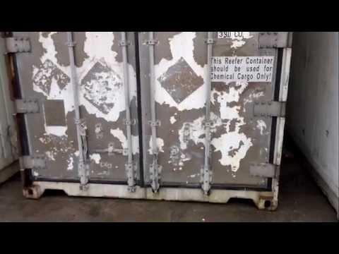 видео: Продажа Рефконтейнеры в наличии 594462
