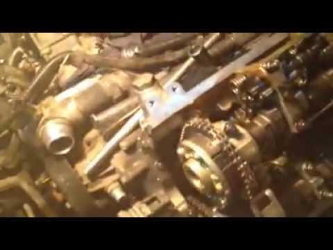 BMW N62 engine camshaft alignment
