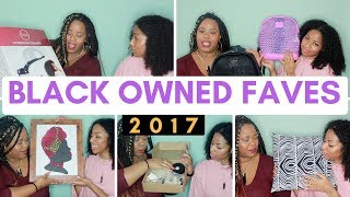 OUR BLACK OWNED FAVES 2017! | HUGE HAUL! | CURLTUREUK