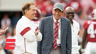 Joe Namath reacts to Alabama's national championship win vs. Ohio State | #Greeny