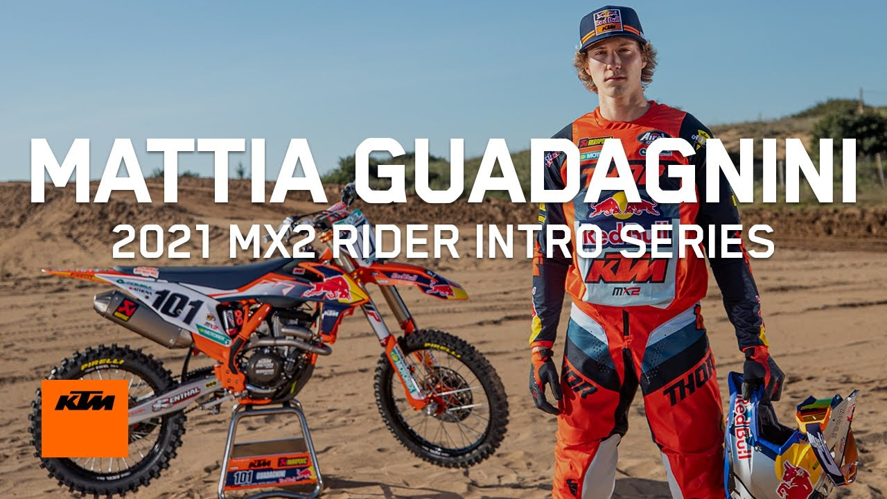 Red Bull KTM Factory Racing's 2021 MX2 Rider Intro Series | MATTIA GUADAGNINI