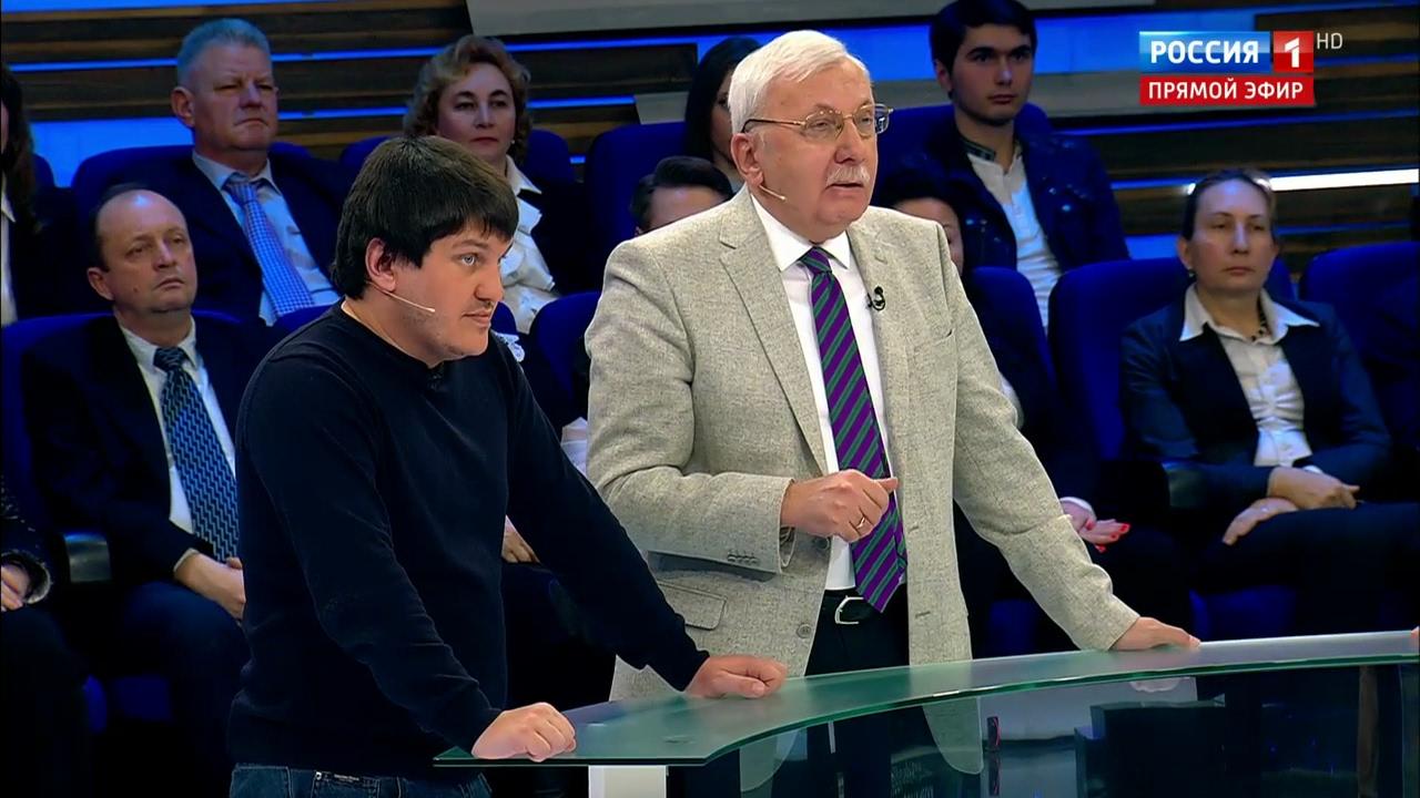 """Виталий Третьяков: """"Нужны решительные меры по Донбассу"""". """"60 минут""""."""
