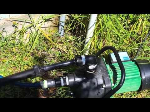 Off Grid Solar Power - Automatic Watering System