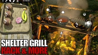 SHELTER GRILL RACK MORE Green Hell Let s Play Gameplay S01E31