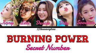 How Would Secret Number Sing Burning Power by Maka Maka[시크릿넘…